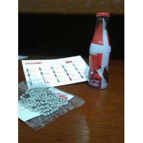 Mini Garrafinhas Copa Do Mundo Coca-cola + Chaveiro Coleção