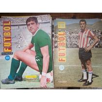 Revista Futbol De Mexico Y Del Mundo Lote De 111 #s 1967-73