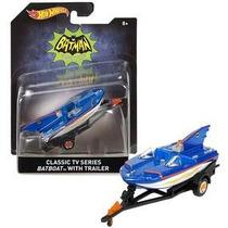 Hot Wheels Retro Classic Tv Series Batboat No Subasta