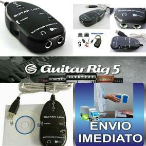 Guitar Link + Cabo P/ Android + Guitar Rig 5 + Plug P2/p10