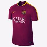 Camisa Barcelona Nike Treino Rosa 2016