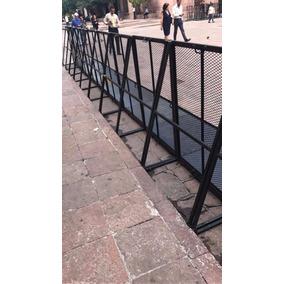 Vallas Antiavalancha Seguridad Concierto Perimetrales