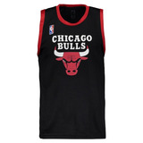 Regata Machão Nba Chicago Bulls Preta