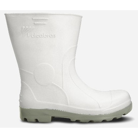 Bota Ou Galocha Branca De Masculino Botas - Calçados, Roupas e ... c7fb96b4c5