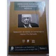Derechos Humanos Y Ombudsman En Mexico