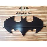 Prateleira Batman 100% Mdf - Largura: 80 Cm