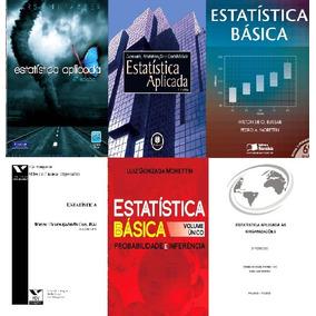 Estatística Básica E Aplicada - 10 Livros - Ebooks