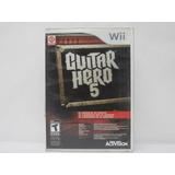 Guitar Hero 5 Wii ¡usado! En Tecno-gaming