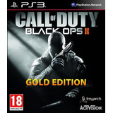 Cod Call Of Duty Black Ops 2 Ps3 Gold Edition Español Hoy!!
