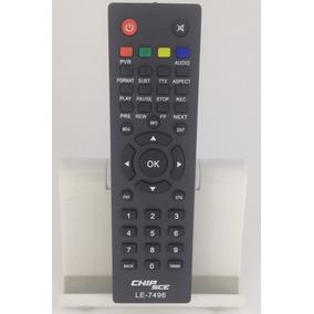 Controle Remoto Conversor Receptor Tv Digital Pix 4g Max