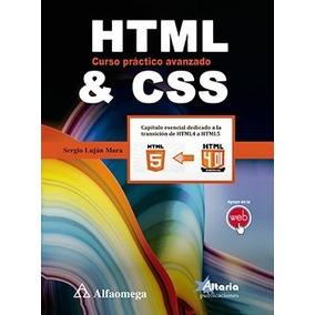 Html Y Css Curso Práctico Avanzado - Lujan- Alfa 79528