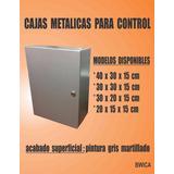 Cajas Metalicas Para Control(40x40x20 Cm)