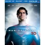 Blu-ray Man Of Steel / Superman El Hombre De Acero/3d+2d+dvd