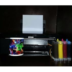 Impresora Multifuncional Epson Tx120 Sublimación Negocio