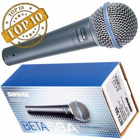Microfone Shure Beta 58a Mexicano