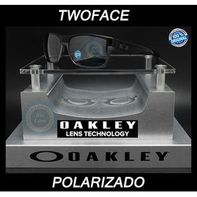 Oakley Two Face 9189 - 01 Black Mica Black Iridium Polarized