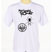 Camiseta Camisa Banda De Rock My Chemical Romance