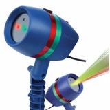 Luces Laser Proyector Luz Color Fiesta Navidad Gira