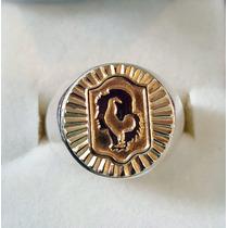 Anillo Policía Federal Pfa Plata Y Oro Exclusivo X Local