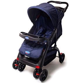 Carrinho Berço Bloom Max Azul Prime Baby