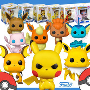 Funko Pop Original Pokemon Videojuego Coleccion Pokedex