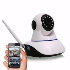 Camera Ip Wifi Visao Noturna P2p Microfone C/ Micro Sd Celul