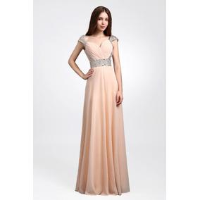 04e4e6f80 Vestidos Largos Elegantes Para Matrimonio - Ropa y Accesorios Beige ...
