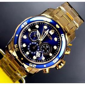 a1c0f458947 Relogio Invicta 0073 Dourado - Relógios no Mercado Livre Brasil