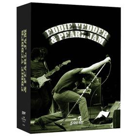 Eddie Vedder & Pearl Jam - Box Com 5 Dvds