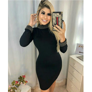 Vestido Tubinho Estilo Panicat Moda Blogueira Festa Balada