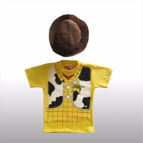Remera Disfraz De Nene Personaje Woody Toy Story Vaquero