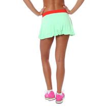 Mini Falda Deportiva Adidas Verde Limon Xs Entrenamiento