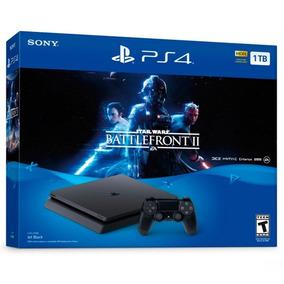 Ps4 Slim 1tb Star Wars Batllefront Sony 2115b Playstation 4