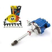 Distribuidor Chevrolet Electronico Racing Blue 350 Cables