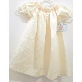 Vestido De Fiesta O Bautismo Talle 24 Meses - 2 Años Nena