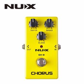 Pedal Nux Ch-3 Chorus Efeito Guitarra Violão Pronta Entrega