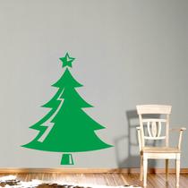 Adesivo De Parede - Árvore De Natal 1 Rosa Carmim