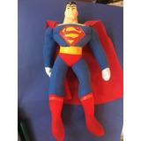 Peluche De Superman Cabeza Rigida Nuevo 40 Cm