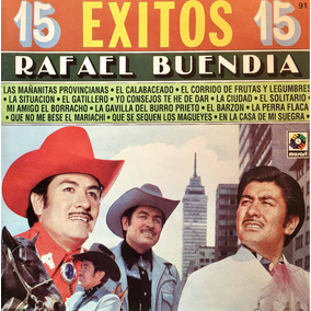 Cd Rafael Buendia 15 Exitos