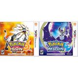 Juegos Digitales 3ds!! Pokemon Sun Sol / Moon Luna!!