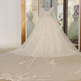 Vestido Noiva Véu 5 Metros