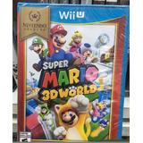 Nintendo Wii U Super Mario 3d World Nuevo Original Cerrado