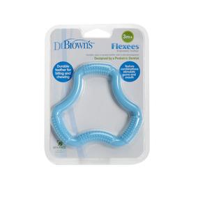 Juguete Para Bebe Dr Browns Llamadientes Flexees Azul