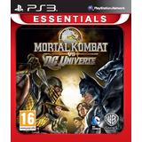 Mortal Kombat Vs Dc Universe Ps3 | Digital Espaã±ol Oferta!