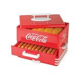 Nostalgia Hds248coke Extra Grande Coca-cola Hot Dog Steamer