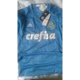 Camisa Goleiro Palmeiras Campeão 2016 Jailson Azul M