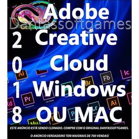 Adobe Cc 2018 Win Ou Mac Online Atualizável Creative Cloud