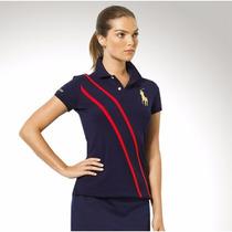 Camisa Polo Ralph Lauren Feminina Original - Tam P E G - P1