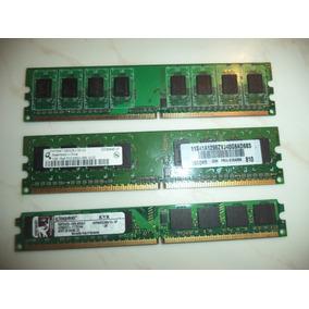 Memoria Ram Cpu Ddr2 Pny / Kingston / Qimonda 1 Gb Pc Usada