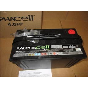 Bateria Alphacell 4.0 Hp Auto, Camioneta, Acumulador Solar